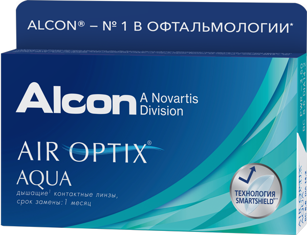 Alcon® AIR OPTIX® AQUA